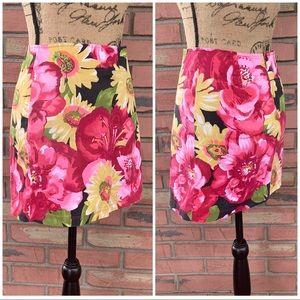 ING International Newport Group Floral Skirt M